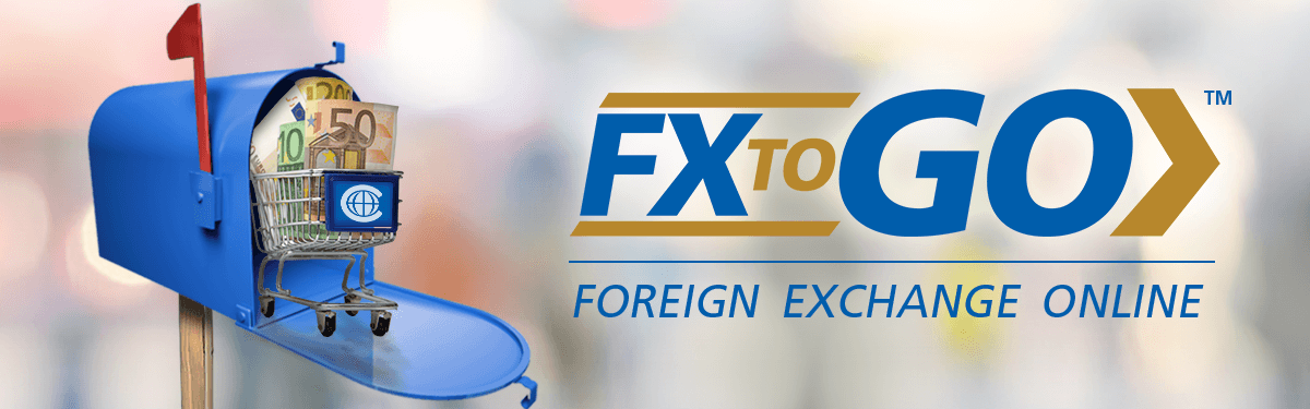 Buy your currency online FX 2 GO
