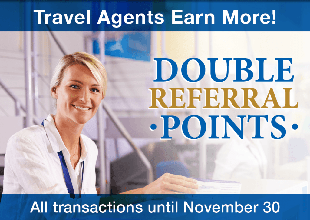travel agents referral save